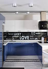 Decals For Kitchen Cabinets Blue Black Kitchen Winda 7 Furniture
