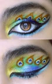 22 crazy eye makeup
