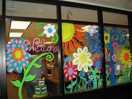 school murals window mural