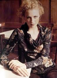 Трикотажная <b>блуза с</b> воротником-хомутом | СЛИЯНИЕ СТИЛЕЙ
