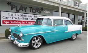 1955 Chevrolet Bel Air Post – 2 Door Sedan