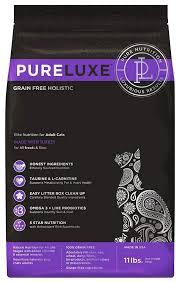<b>Сухие корма</b> для кошек <b>PureLuxe</b>