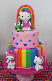 Hello Kitty Birthday Cakes Plus 18th Birthday Cake Ideas Plus