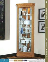 corner display cabinet wall mounted cabinets with glass doors light oak ikea