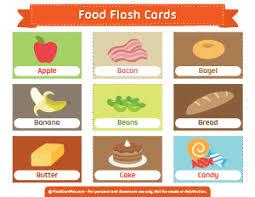 Food Flash Cards Food Flash Cards