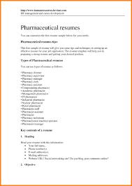 Pharmacist Resume Template Free Sample Pharmacist Resume Objective