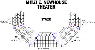 Mitzi E Newhouse Theater Playbill