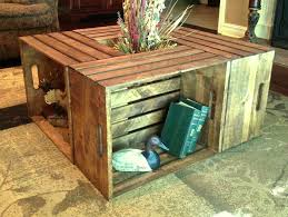 wooden crate end table s wooden crate table plan wood table top dog crate