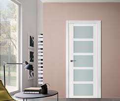 the triplex line of modern interior doors are made with wood mdf and fused triplex glass