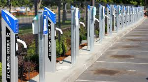 Portland Airport Gets Record Number Of Ev Charging Stations