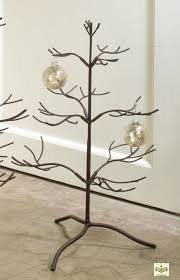 Ornament Hanger Display Stand Ornament Tree Brown Natural 100 Ornament Display Trees 74