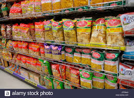 making potato chips stock photos making potato chips stock miami beach florida walgreens pharmacy drugstore shelves for competing brands packaging retail display chips