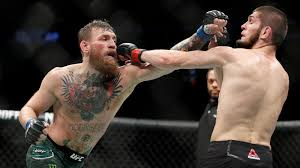 Relive one of the most anticipated debuts in ufc history, as conor mcgregor entered the octagon for the first time against marcus brimage. Ufc 229 Descends Into Chaos After Khabib Nurmagomedov Taps Out Conor Mcgregor Abc News
