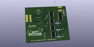 cfa display grabber mainframe the resulting pcb