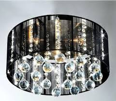 modern black crystal chandelier