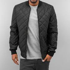 dangerous dngrs quilted ii pu leather jacket black
