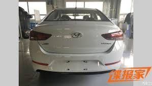 2018 hyundai verna. perfect verna the photos show that the new verna will get hyundai grille and one  is very similar to seen on indiabound elantra intended 2018 hyundai verna y