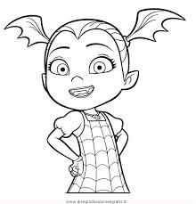 Disegno Vampirina 04 Misti Da Colorare