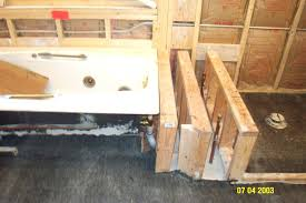 install bathtub on concrete floor ideas