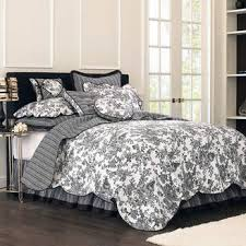black toile bedding. Beautiful Bedding Asstd National Brand Toile Garden Bedskirt To Black Bedding I