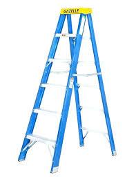 12 ft platform ladder ft step ladder gazelle ft fiberglass step ladder for working height up
