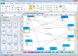 Charts And Graphs Software Free Download Relations Diagram Software