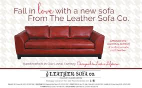 fall in cove with a new sofafrom the leather sofa coembrace thewarmth comfortof custom
