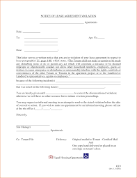 Rental Agreement Letters 20 Inspirational Rental Agreement Violation Letter Pictures ...