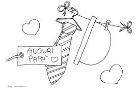 Disegni Per Bambini Da Colorare Festa Del Papà Disegni Mammafelice
