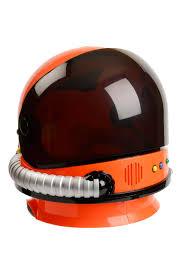 child orange astronaut helmet