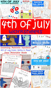 Help entertain little imaginations with printable colouring in pages and activities. 4th Of July Worksheets Itsybitsyfun Com