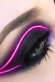 you ll light up the night when you try this neon eyeliner trend from insram
