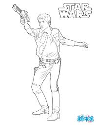 Small Picture Han Solo captain of the Millennium Falcon coloring page More The