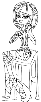 Small Picture Cleo De Nile Monster High Coloring Page Coloring Pages of