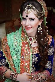 a bride s eyes are the center of attention for anyone and stani brides decorate their eyes with a lot of maa clic eyeliner a bright colored eye