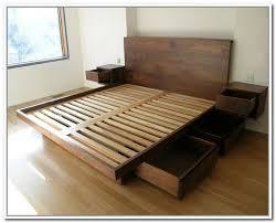 California King Storage Bed Frame Bed frames