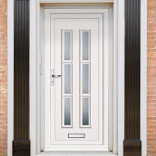 Exterior Lyon Six Upvc Door External White Pvc Doors Jeld-wen Entry ...