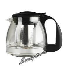<b>Чайник заварочный</b> Walmer <b>Aster</b> черный <b>0.7</b> л (W15006070 ...