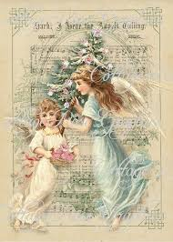 Image result for vintage christmas angels