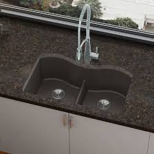 quartz luxe 33 x 20 double basin undermount kitchen sink