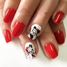 christmas mickey mouse minne mouse designs nails art - Zestymag