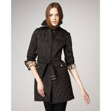 Burberry Brit Long Quilted Jacket - Polyvore & Burberry Brit Long Quilted Jacket Adamdwight.com