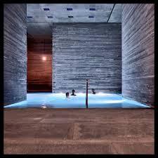 Therme Vals Indoor pools Switzerland and Peter zumthor