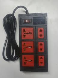 Ổ cắm điện chịu nhệt 6 lỗ 2 mét Điện Quang ĐQ ESK 2BR 6ECO (Đen)