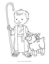 Shepard David Coloring Sheet Google Search