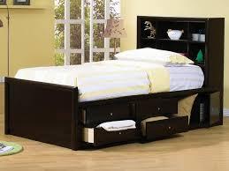 full size bedroom. image of: full size bed storage black bedroom