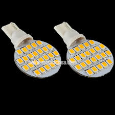 t10 2835 super bright 24 smd warm white led bulbs