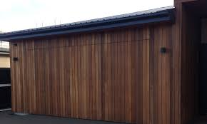 flush mount vertical cedar door