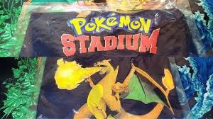 VINTAGE POKEMON STADIUM SEALED TSHIRT AND POSTER FROM BLOCKBUSTER! - YouTube