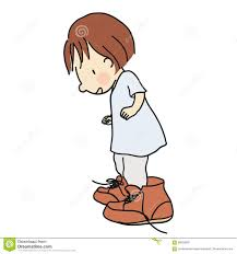 Image result for little girl with big shoes